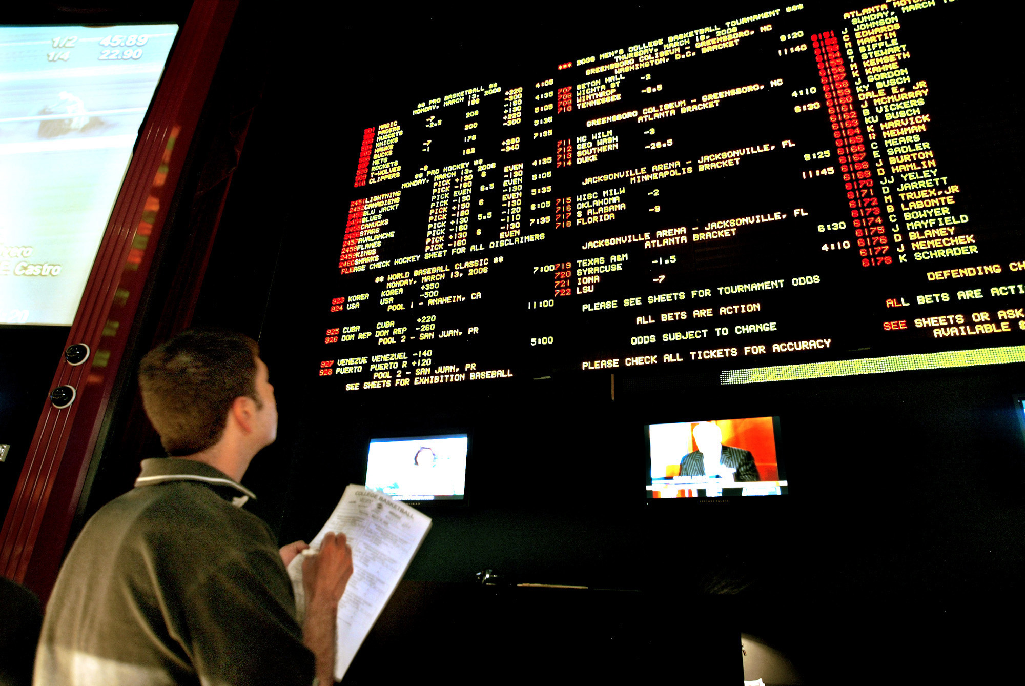 Sports gambling hotline big hit casino
