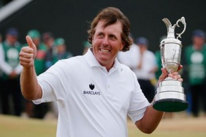 Phil Mickelson Wins British Open In Spectacular Fashion