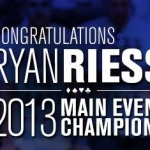 Ryan Riess Wins The 2013 WSOP Main Event