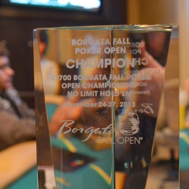 Russell Crane Takes Down The Borgata Fall Poker Open