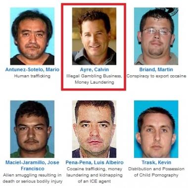 Calvin Ayre Makes 10 Most Wanted Fugitives List