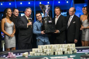 2013 WPT Doyle Brunson Five Diamond Trophy Claimed